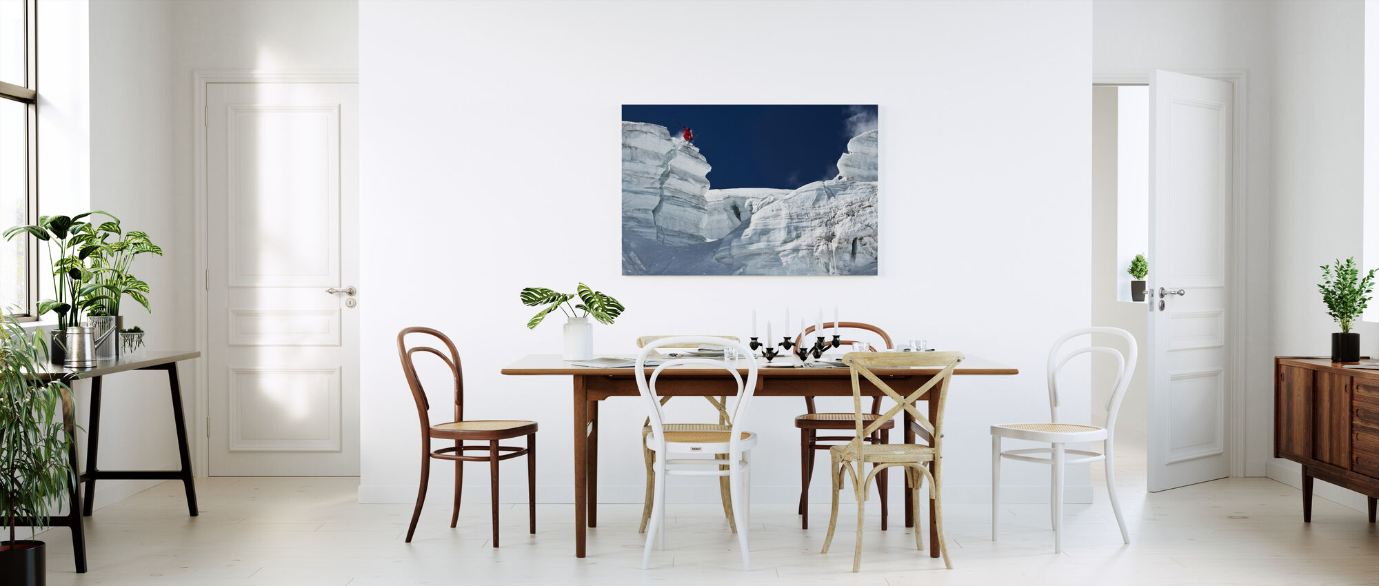 Cliff Jumping - Canvas print - Kitchen