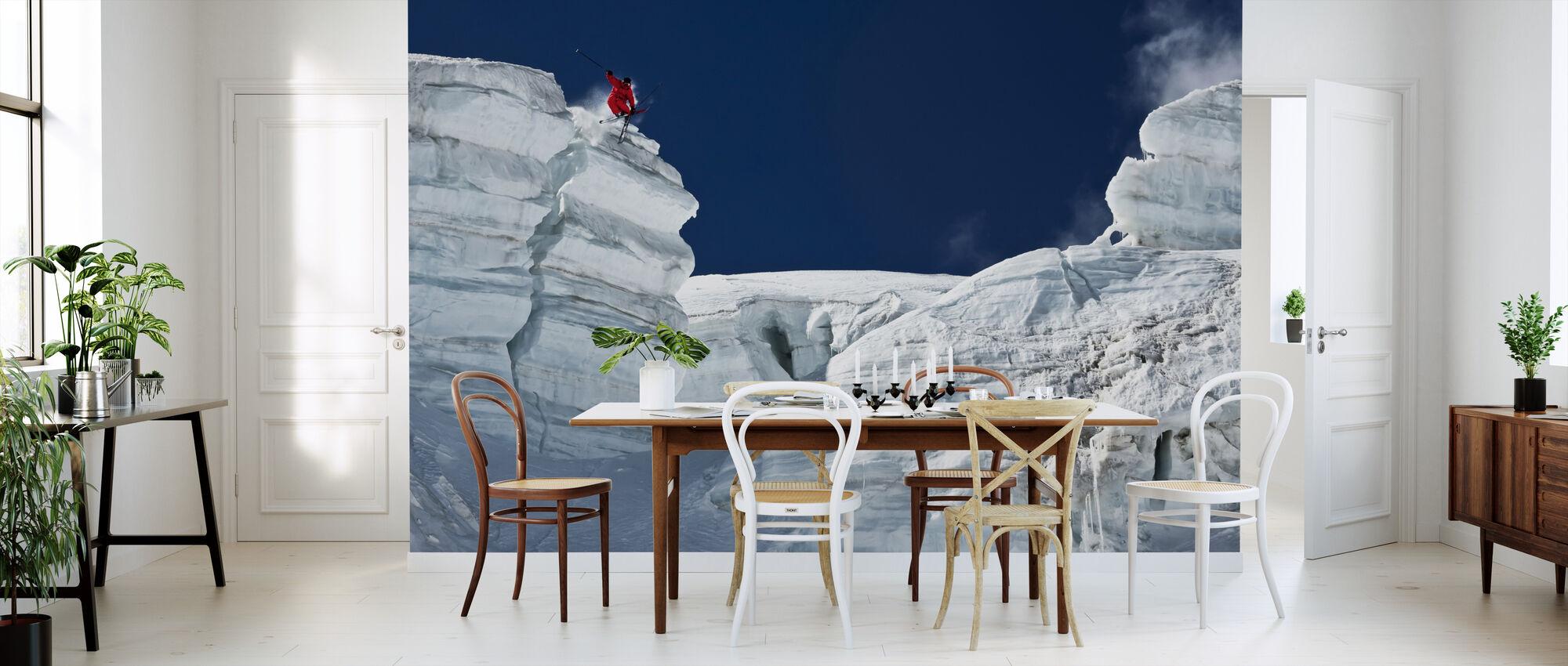 Cliff Jumping - Wallpaper - Kitchen