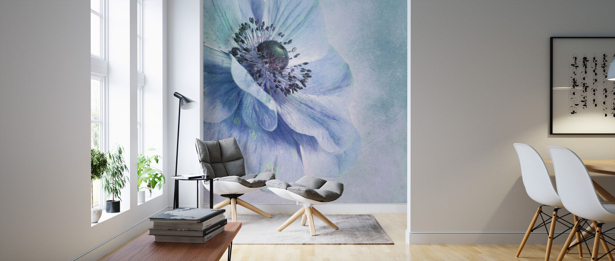 Beautiful Flower - Wallpaper - Living Room