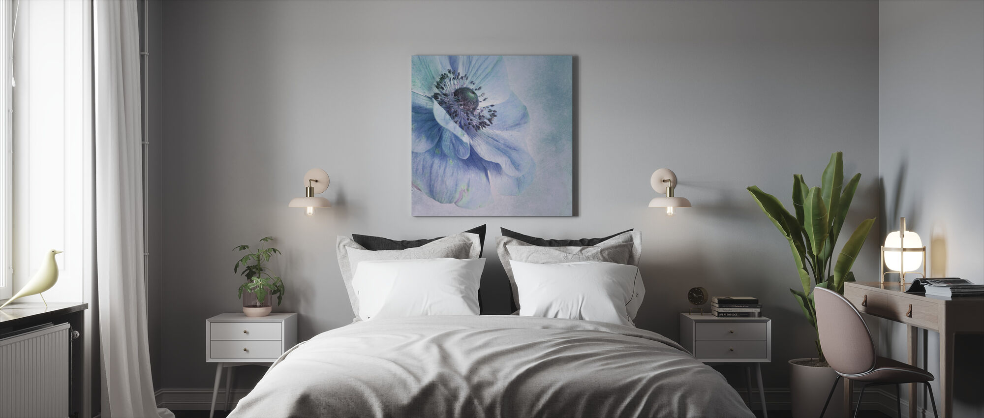 Beautiful Flower - Canvas print - Bedroom
