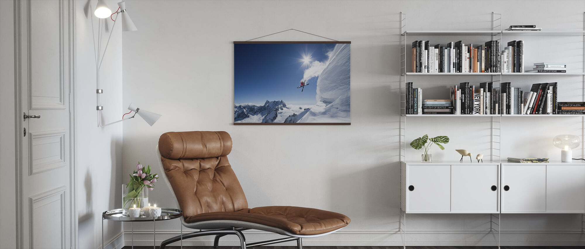 Extreme Skiing - Poster - Living Room