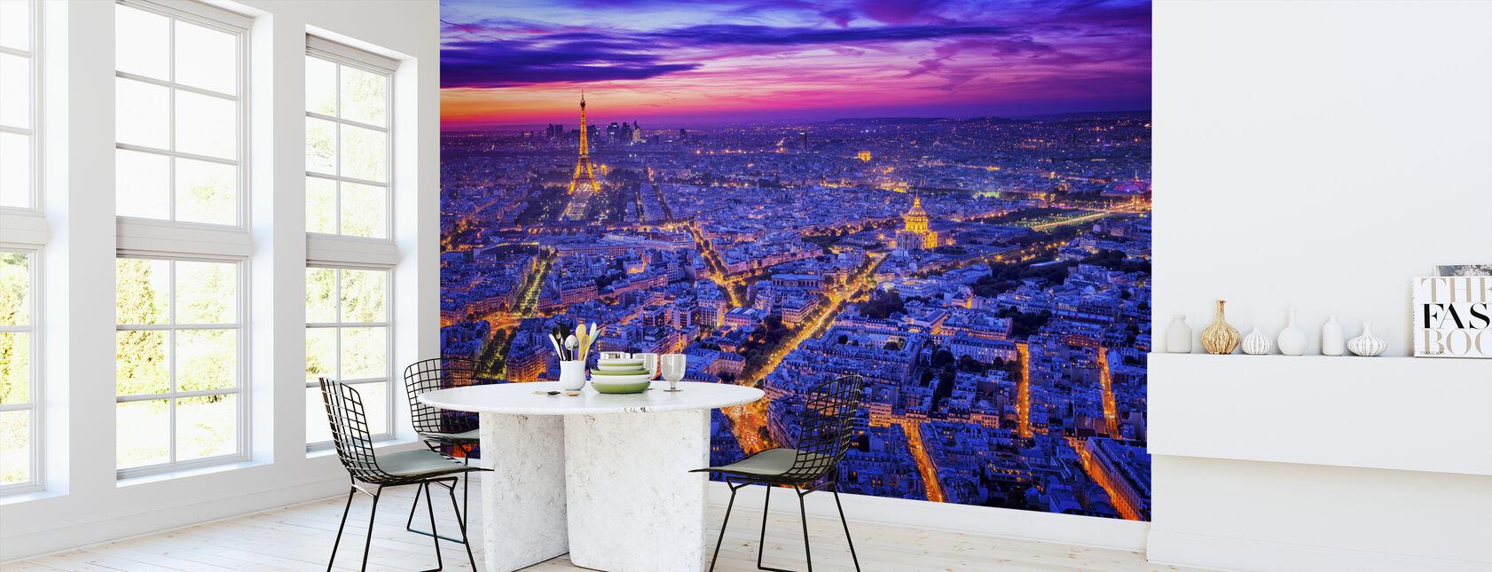 Paris By Night - Wallpaper - Kitchen