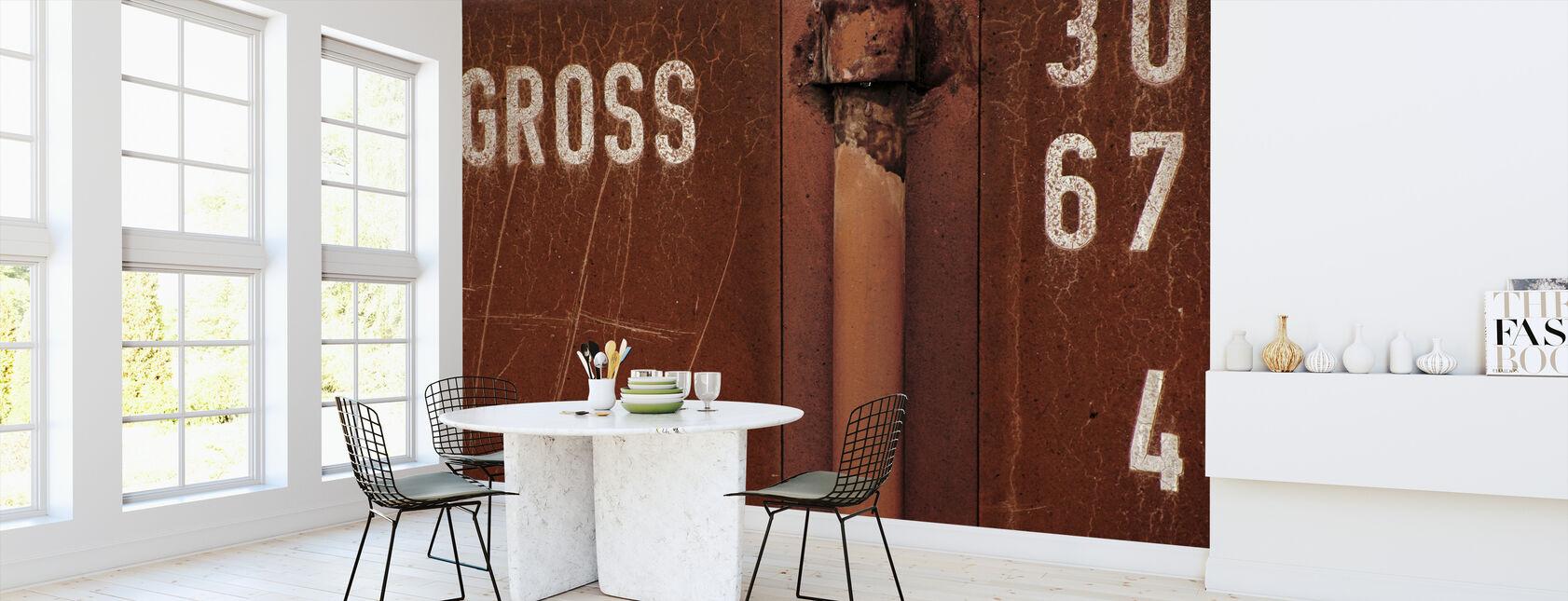 Mur brut - Papier peint - Cuisine