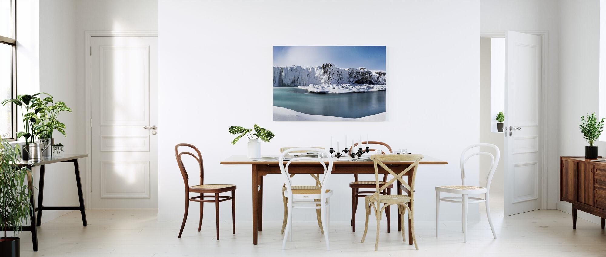 Godafoss-Wasserfälle - Leinwandbild - Küchen