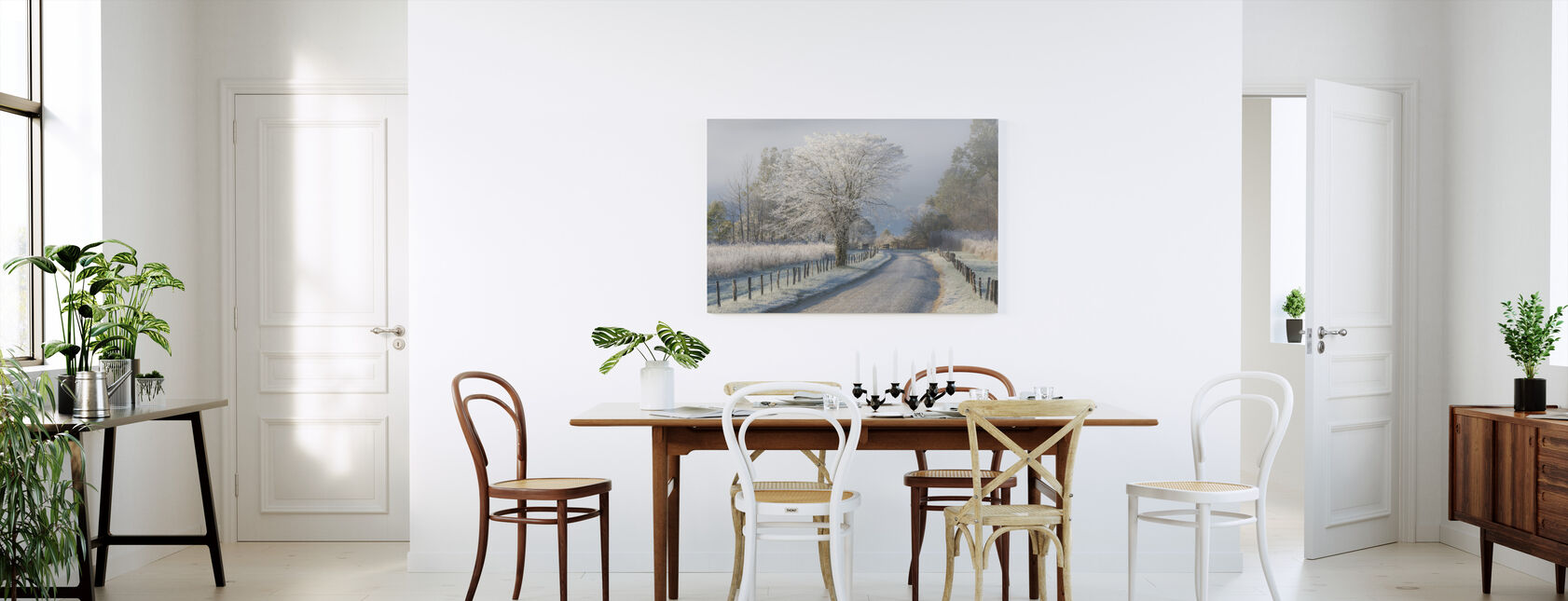 Frosty Morning - Canvas print - Kitchen
