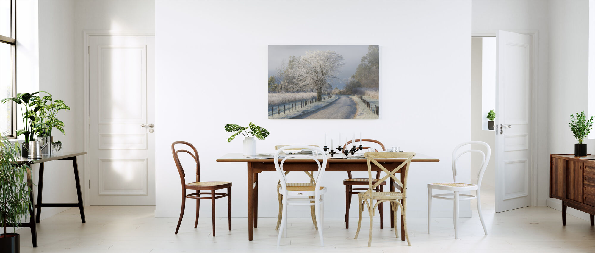Frosty Morning - Canvas print - Kitchen