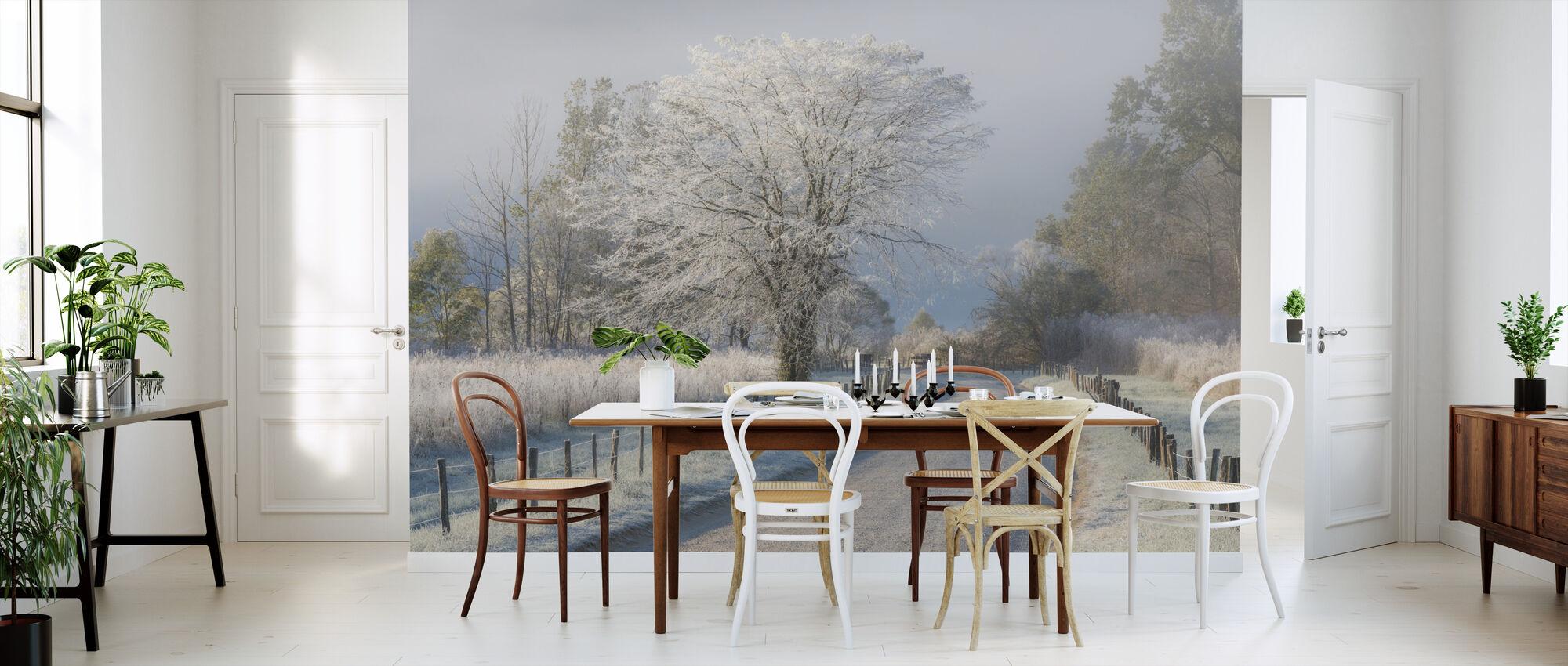 Frosty ochtend - Behang - Keuken