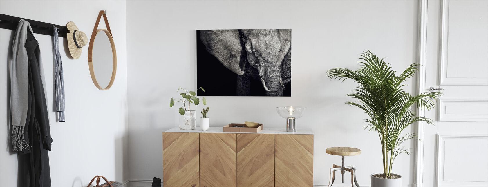 Beautiful Elephant - Canvas print - Hallway