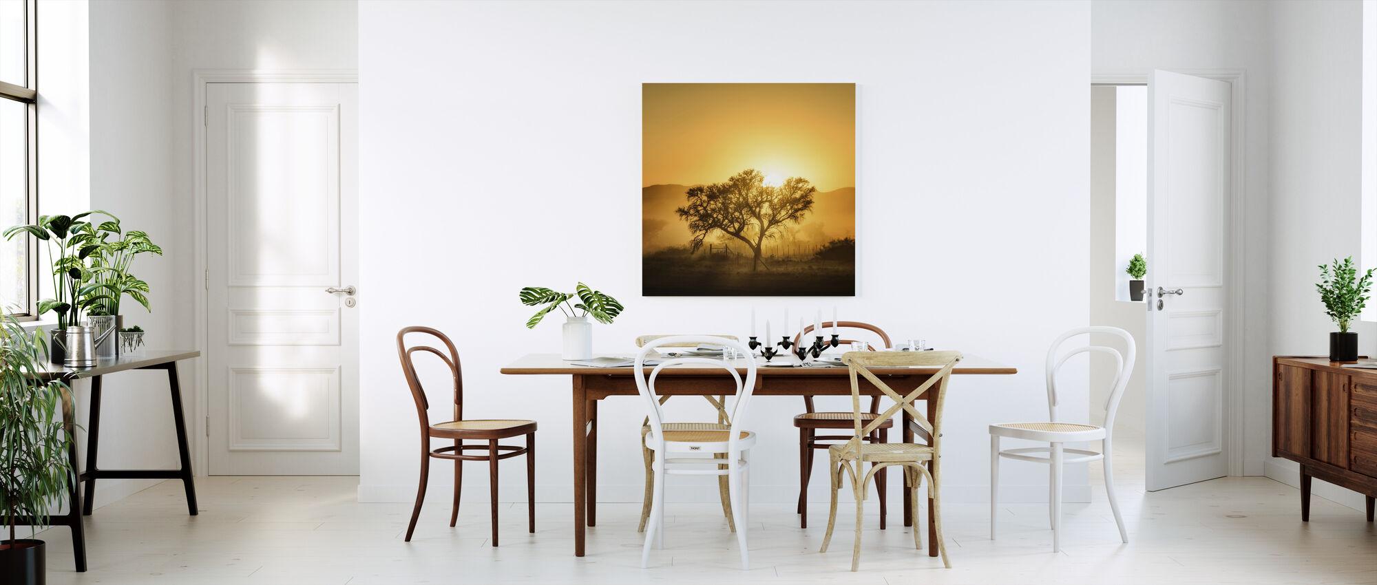 Golden Sunrise - Canvas print - Kitchen