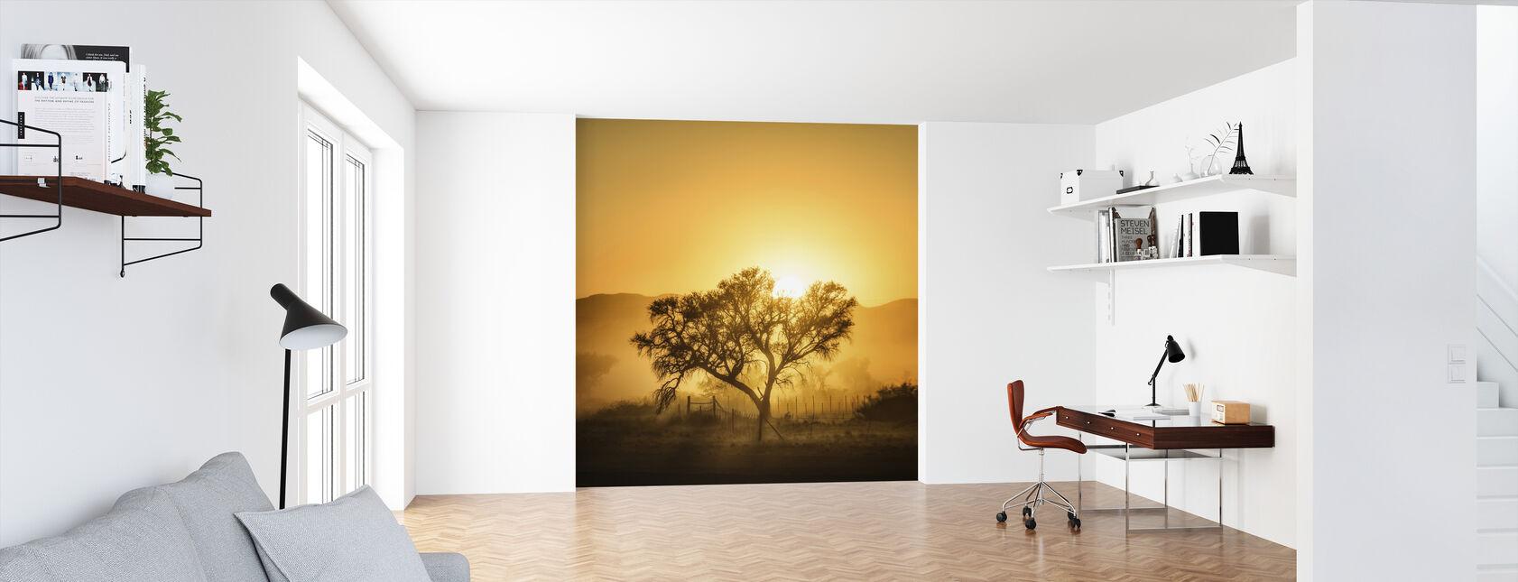 Golden Sunrise - Wallpaper - Office