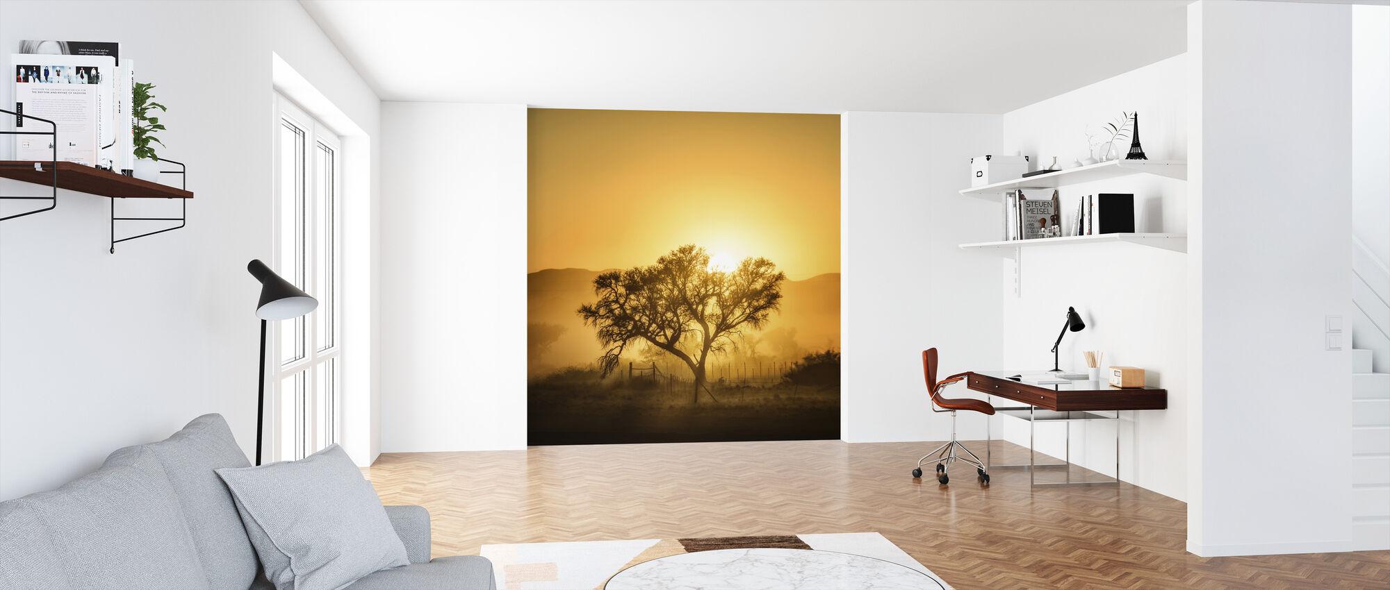 Golden soloppgang - Tapet - Kontor