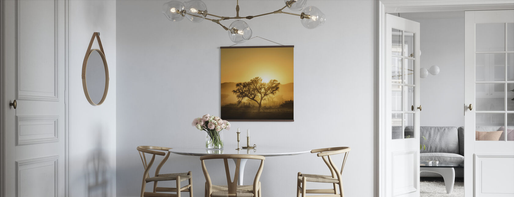 Golden Sunrise - Poster - Kitchen