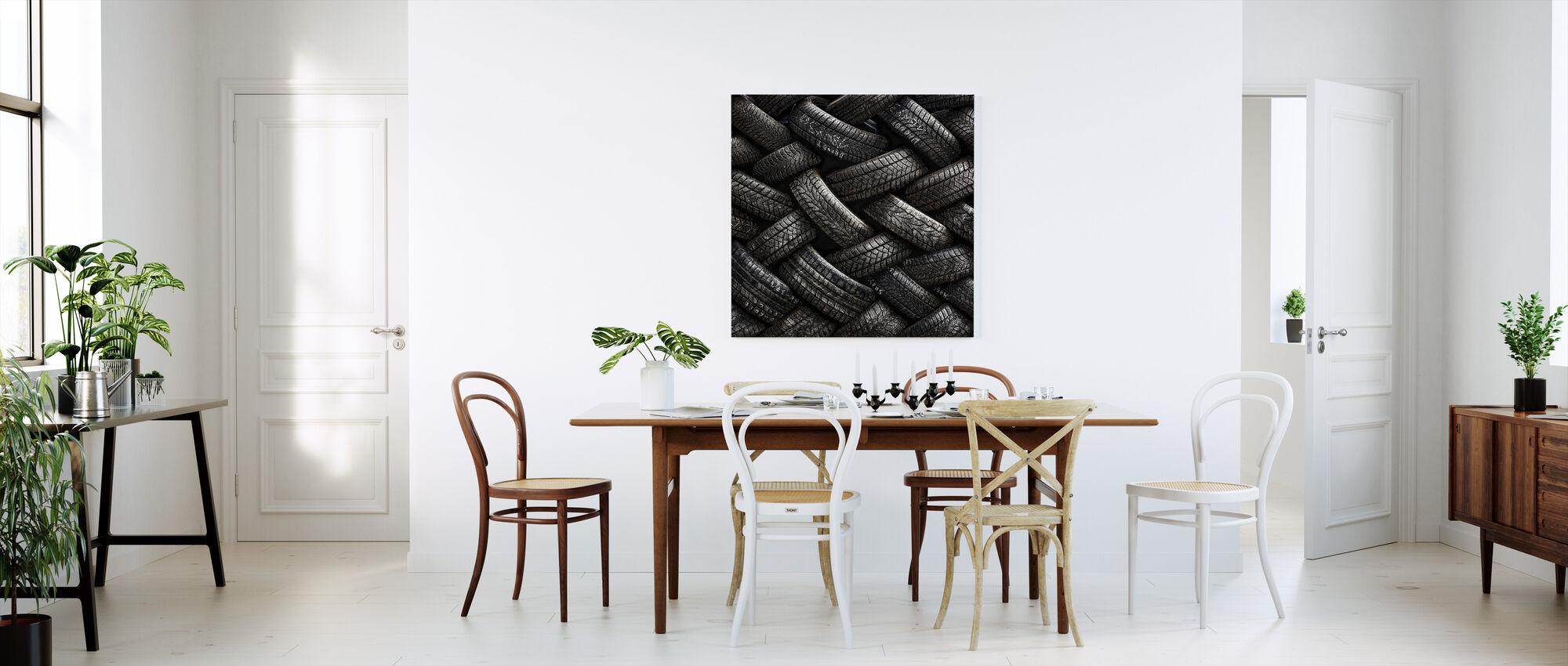 Tire Tread - Canvas print - Kitchen