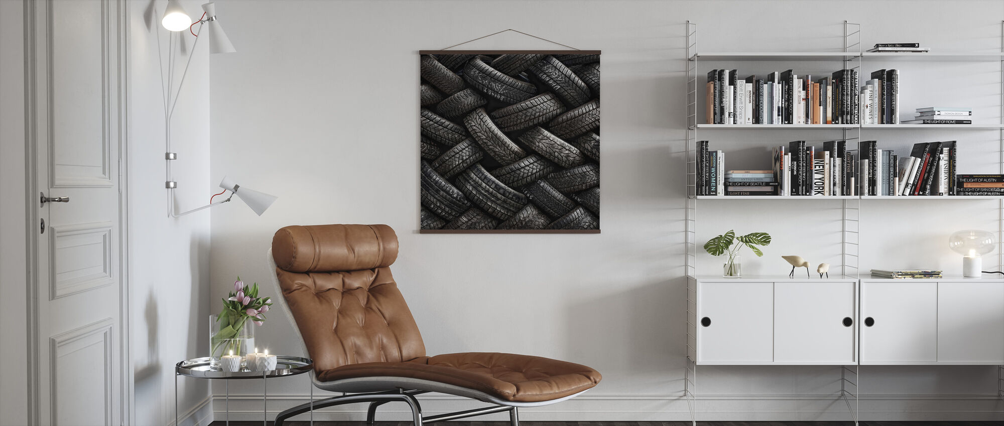 Tire Tread - Poster - Living Room