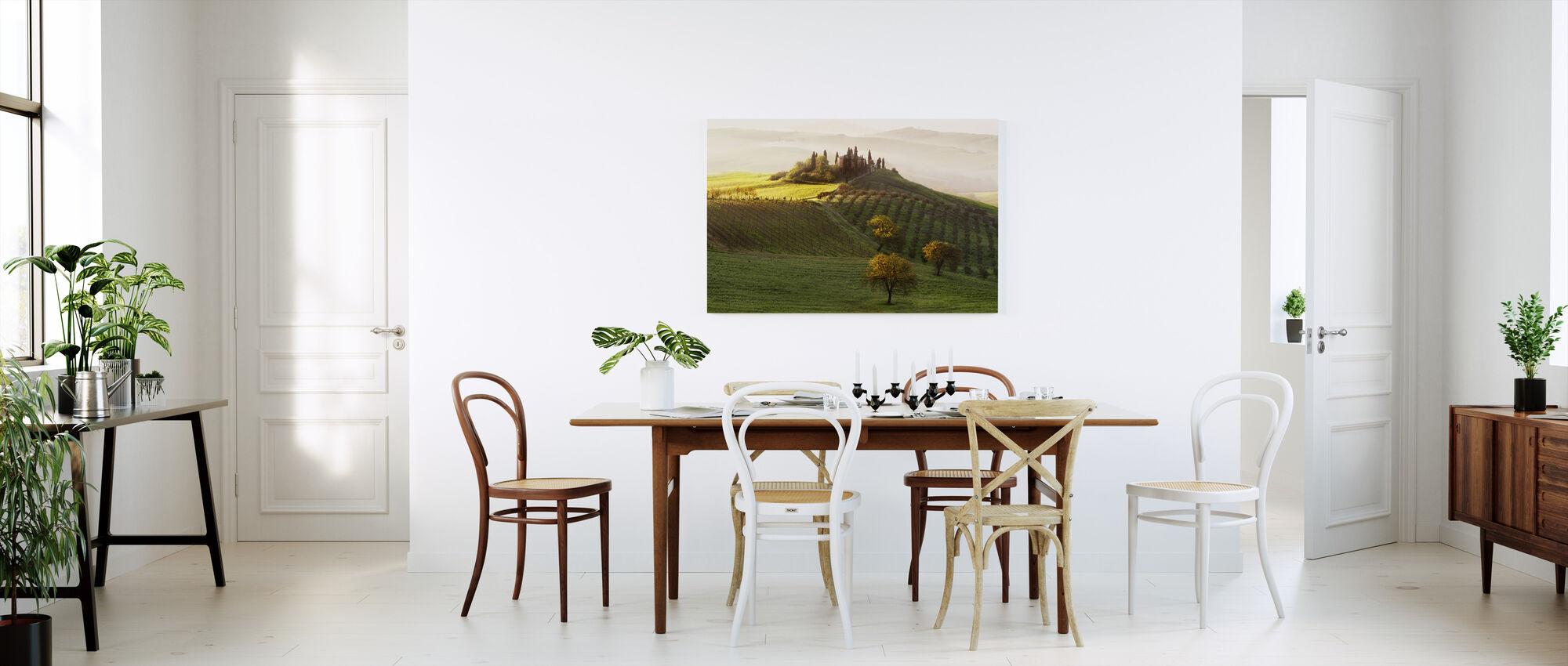 Green Landscape - Canvas print - Kitchen