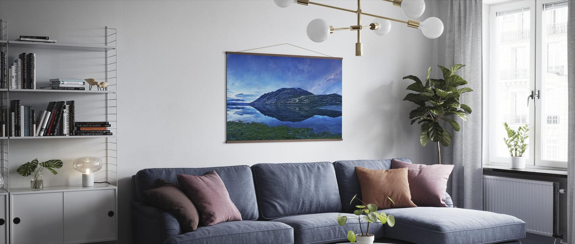 Hawea-meer, NZ - Poster - Woonkamer