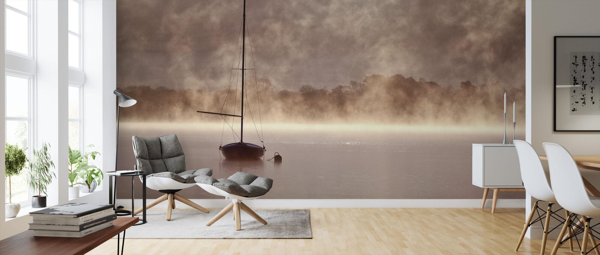 Misty Boatride - Wallpaper - Living Room