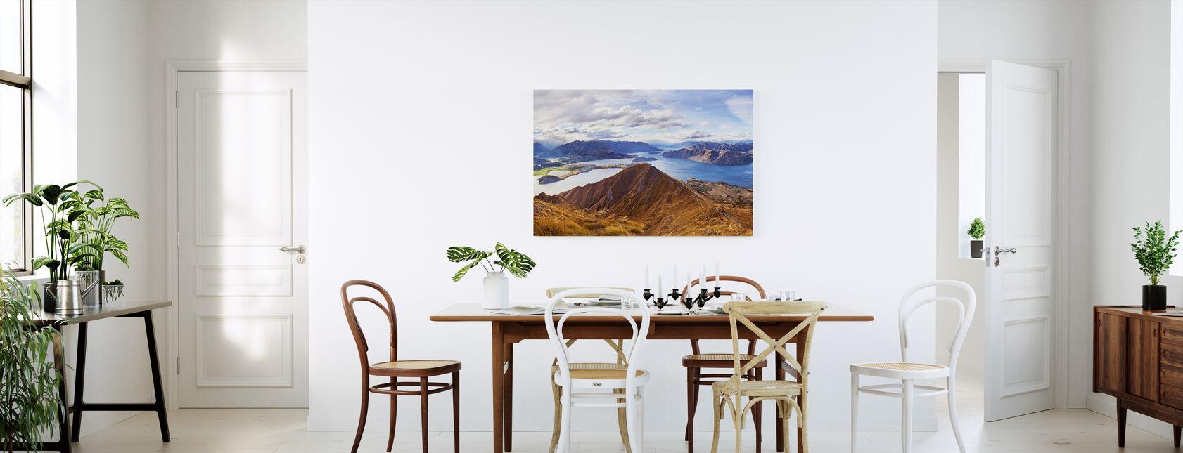 Roys Peak, NZ - Canvas print - Kitchen