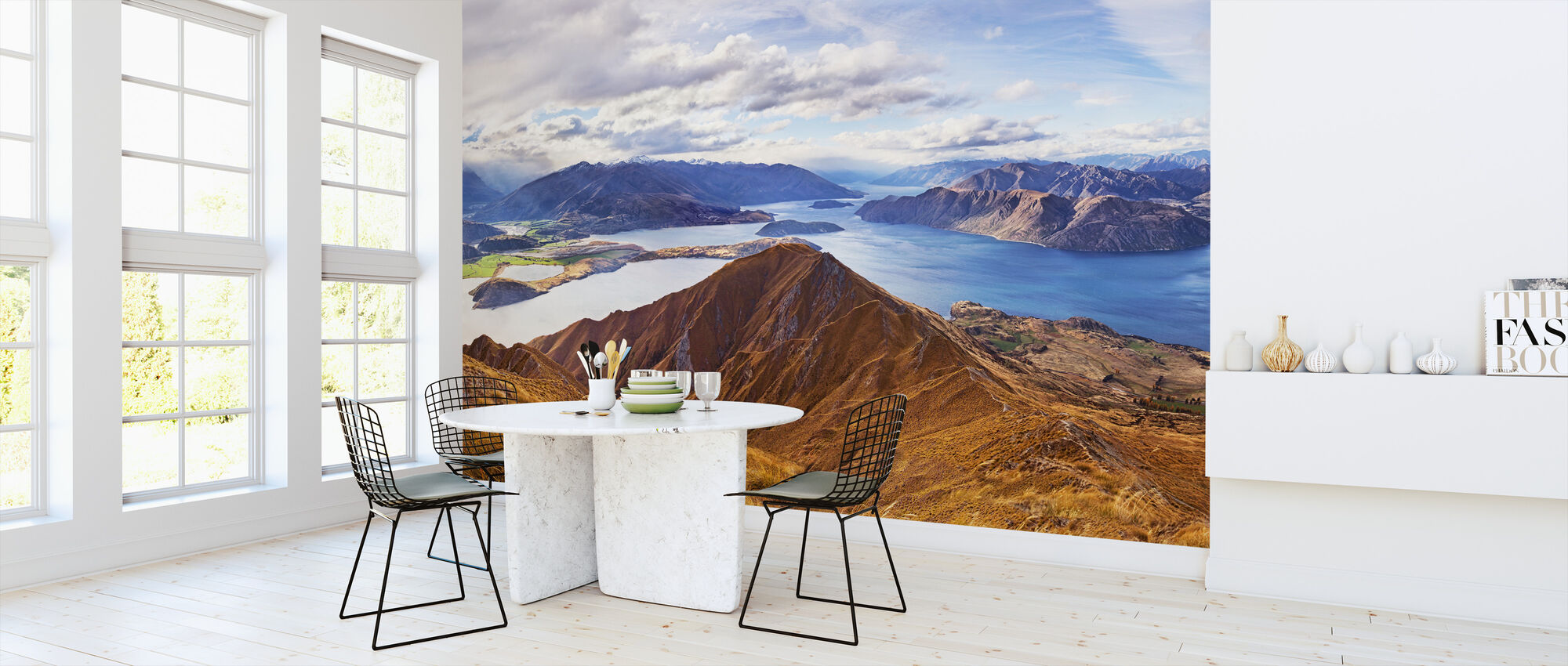 Roys Peak, NZ - Wallpaper - Kitchen