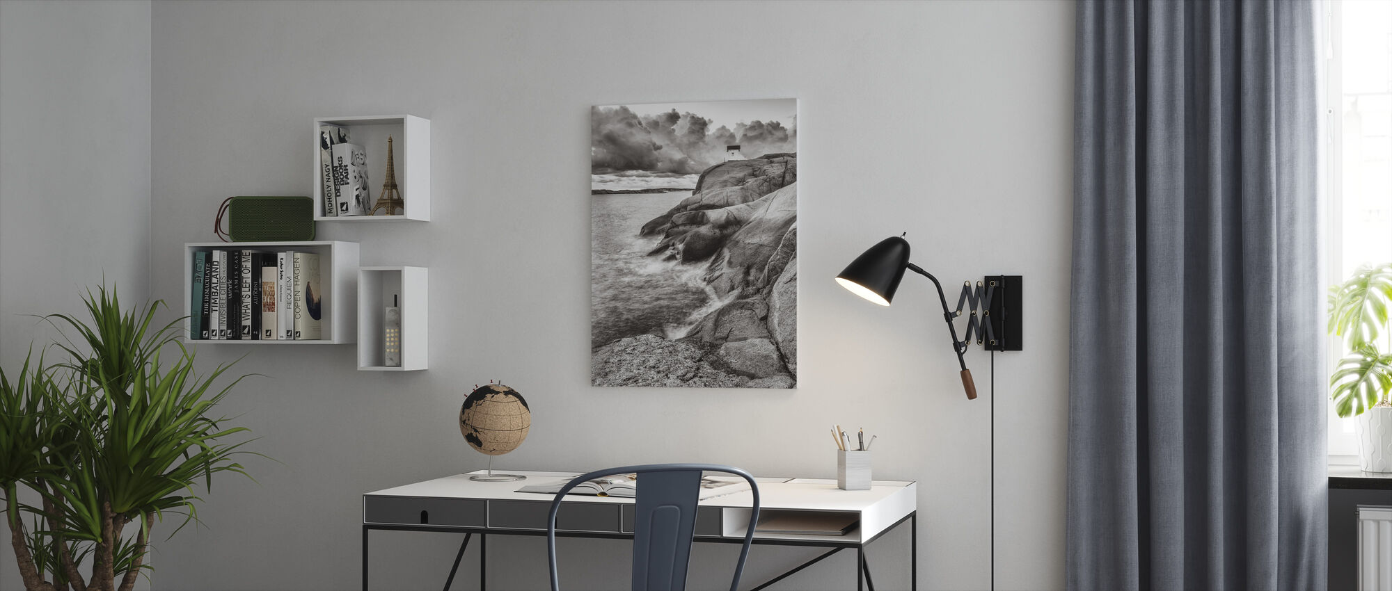Rocks - Canvas print - Office
