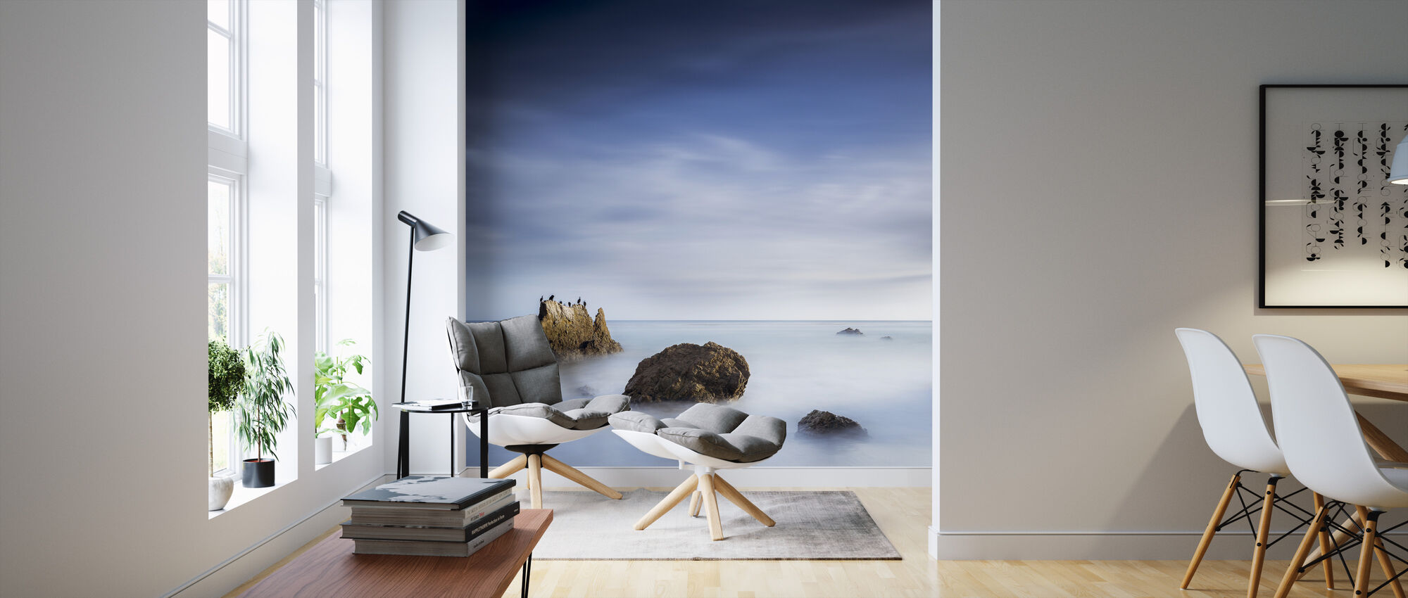 Misty Sea - Wallpaper - Living Room