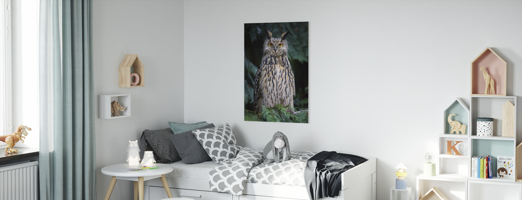 Uil - Canvas print - Kinderkamer