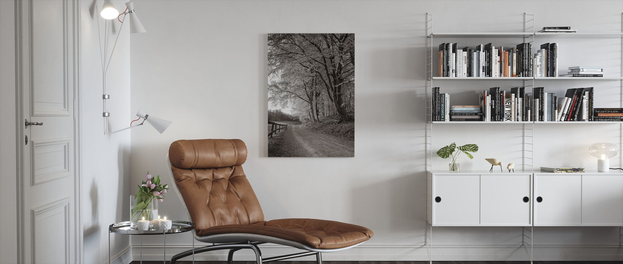 Country Road - Canvas print - Living Room