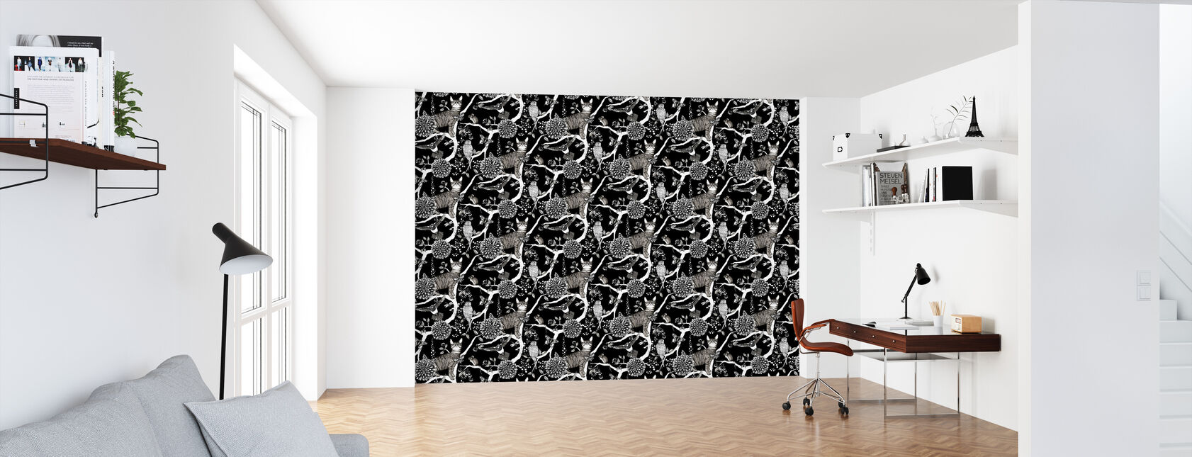 Catzy - Wallpaper - Office