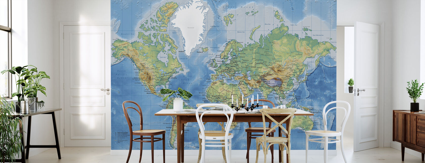 World maps trendy wall murals photowall 121 gumiabroncs Image collections