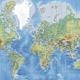 World Map Detailed Wall Mural Amp Photo Wallpaper Photowall