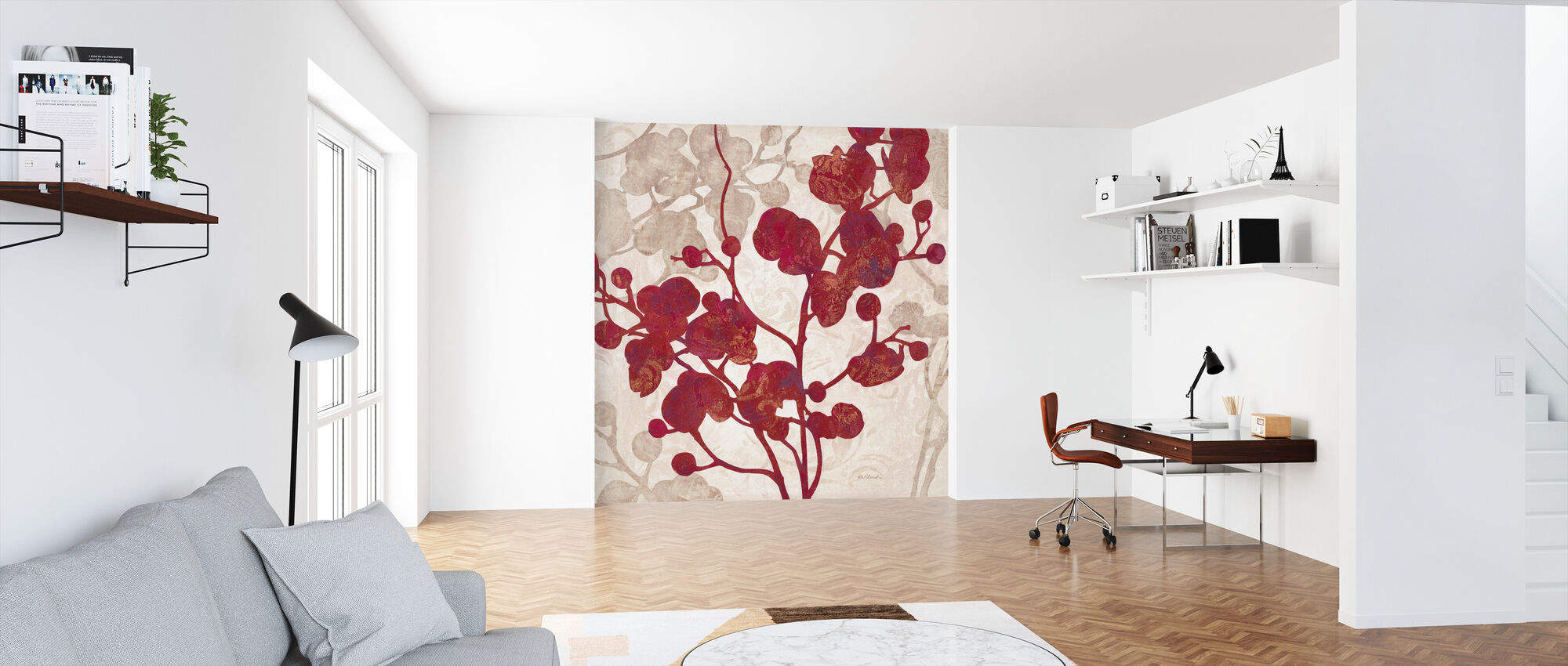 Luscious Orchid 2 - Wallpaper - Office