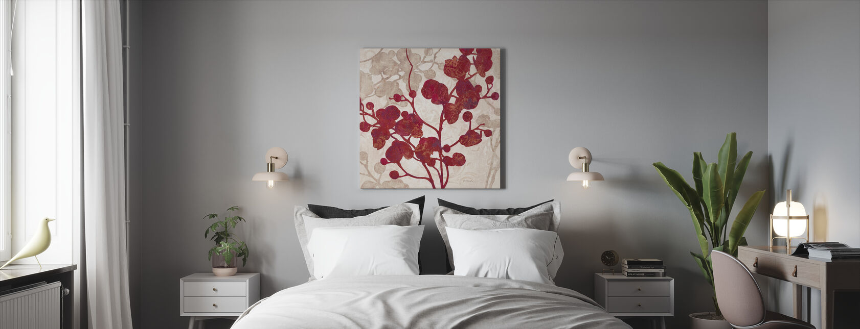 Luscious Orchid 2 - Canvas print - Bedroom