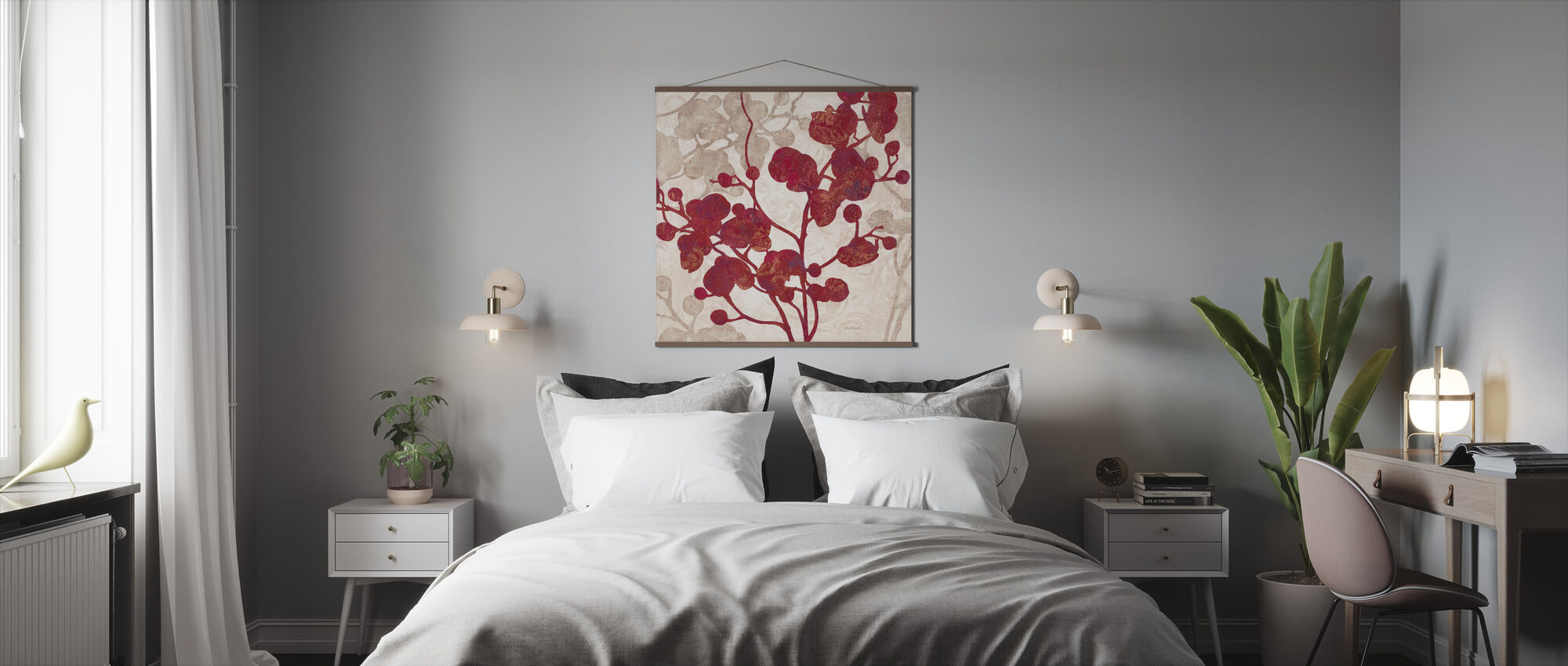 Luscious Orchid 2 - Poster - Bedroom