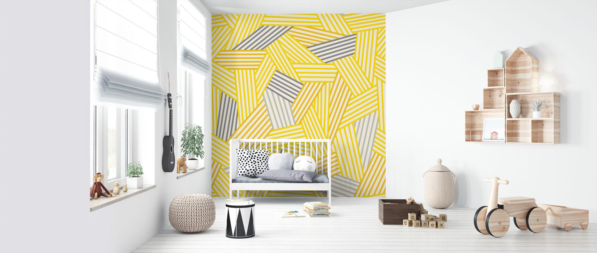 Going Geometric 3 - Wallpaper - Nursery