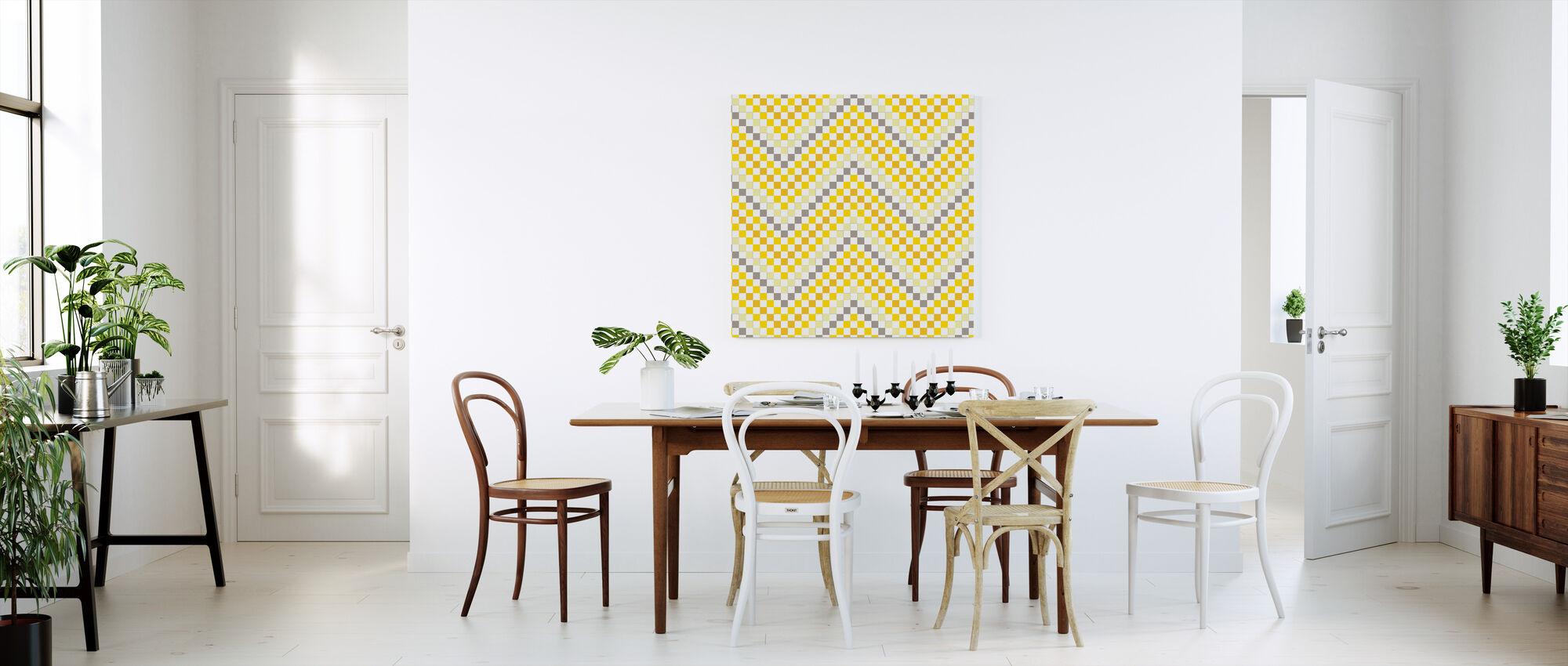 Going Geometric 4 - Canvas print - Kitchen