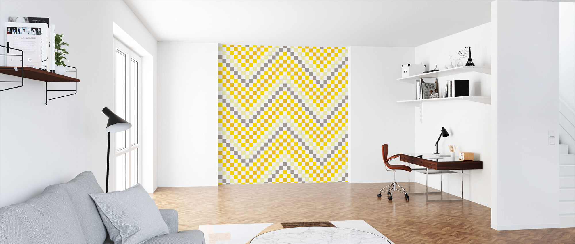 Going Geometric 4 - Wallpaper - Office