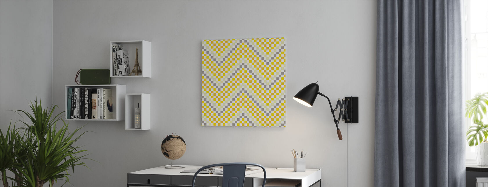 Going Geometric 4 - Canvas print - Office