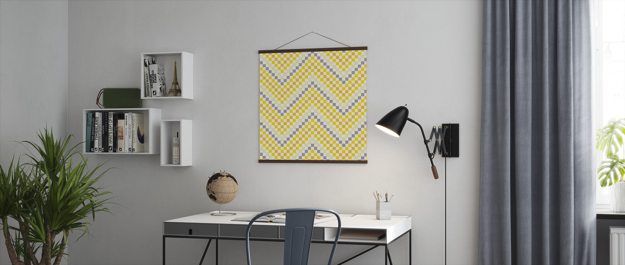 Going Geometric 4 - Poster - Office