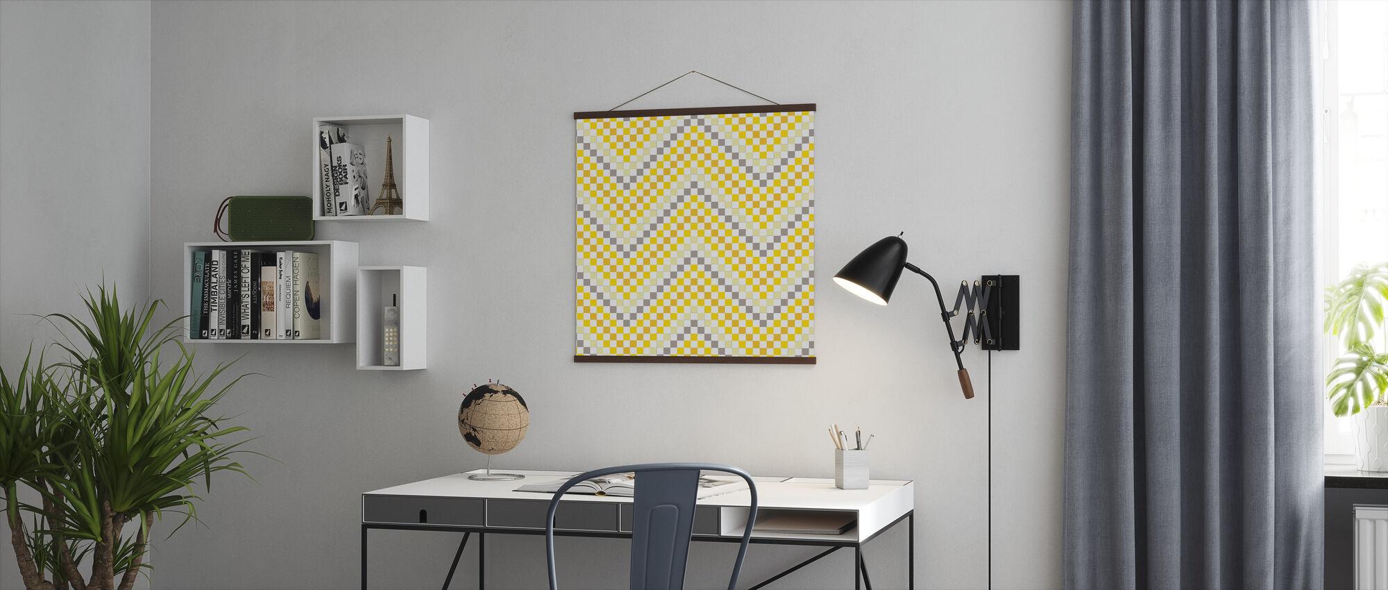 Geometrisch 4 - Poster - Kantoor