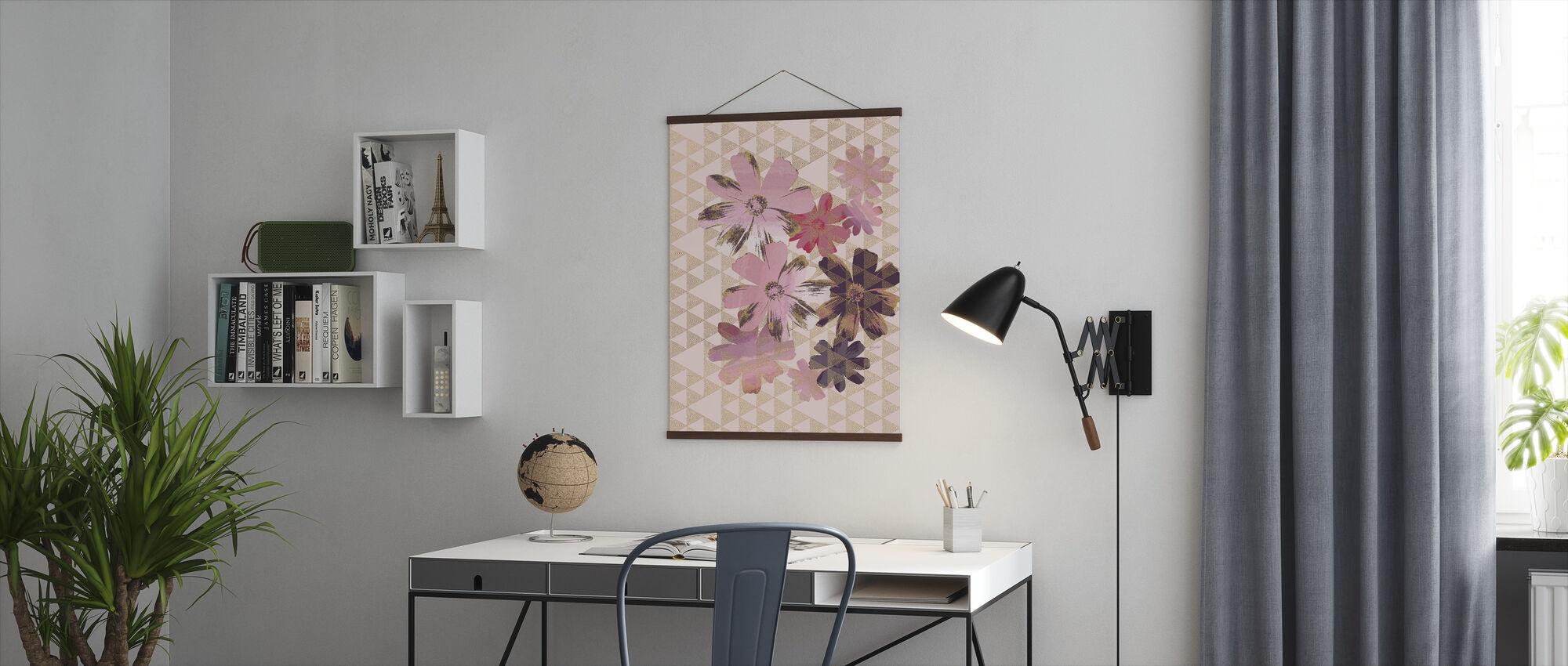 Kimono Tusenfryd 1 - Plakat - Kontor