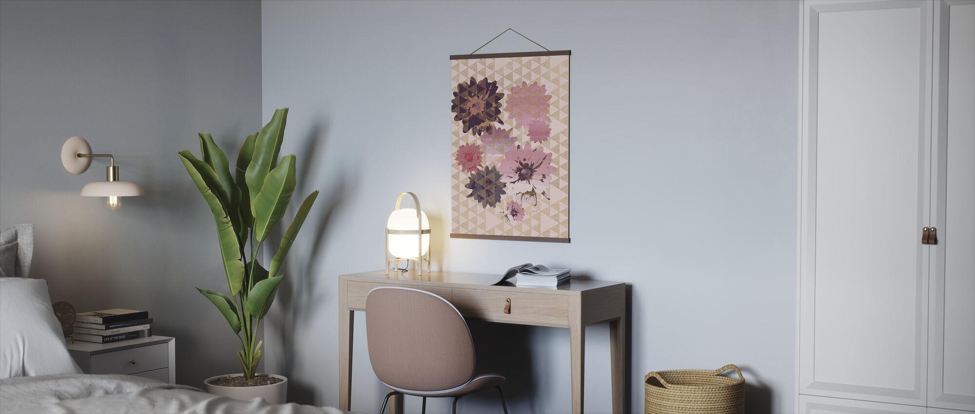 Kimono Daisies 2 - Poster - Office