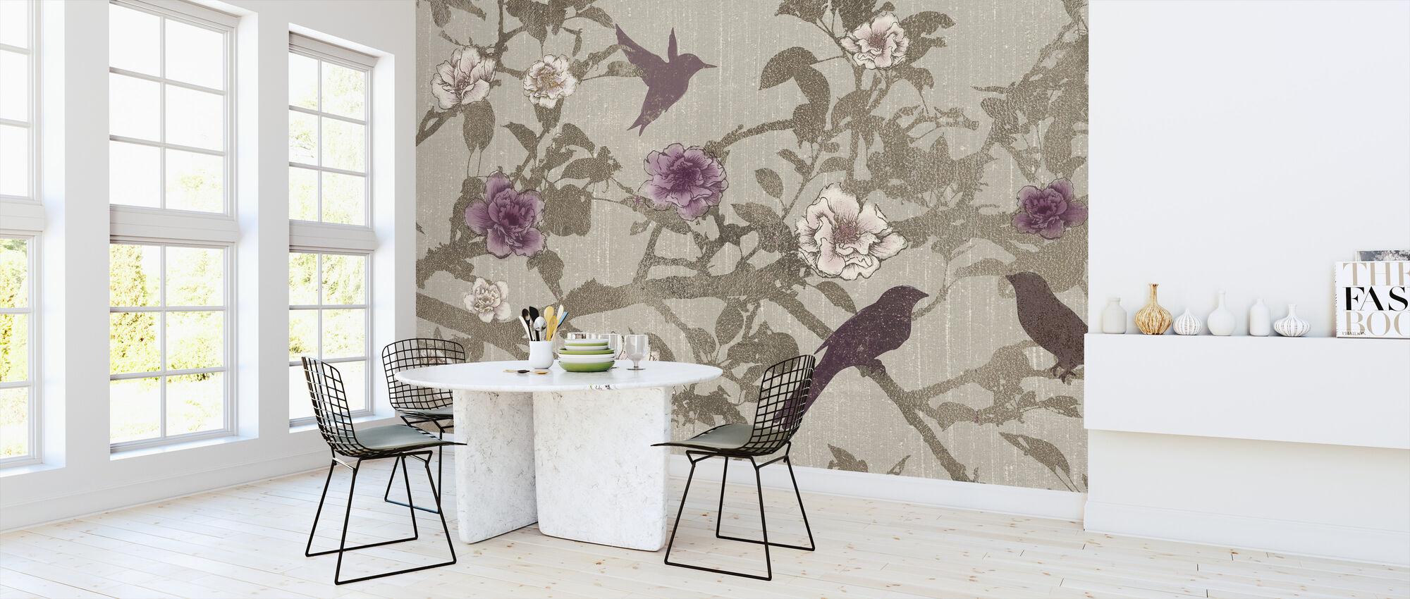 Gilded Branches - Wallpaper - Kitchen