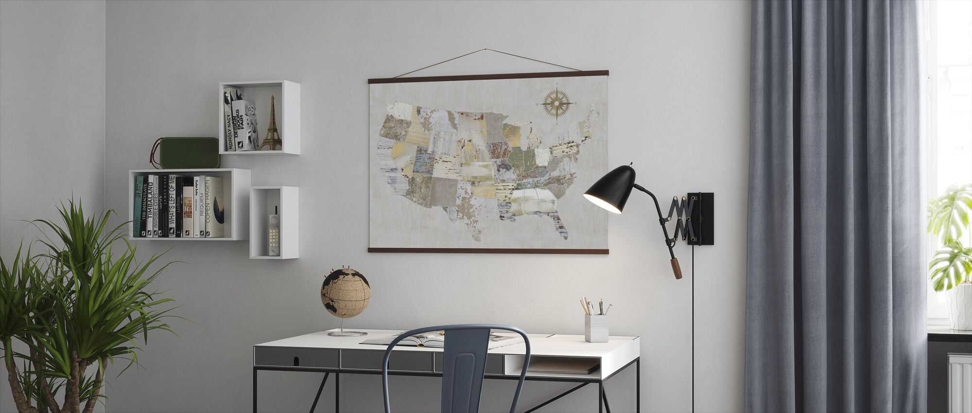 American Textures - Poster - Office