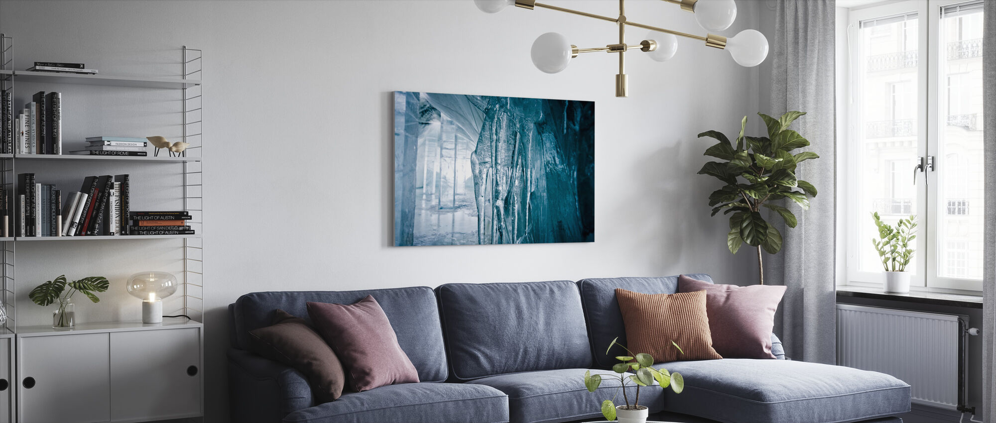 Return to the River - Canvas print - Living Room