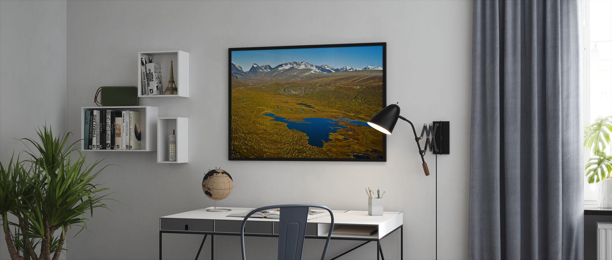 Lapland - Framed print - Office