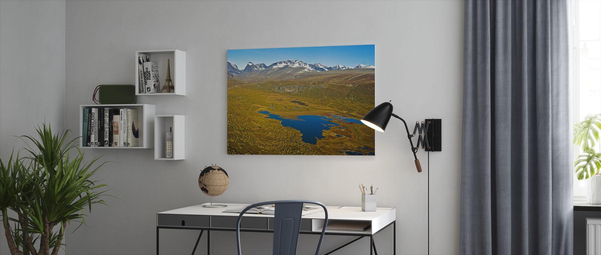Lapland - Canvas print - Office