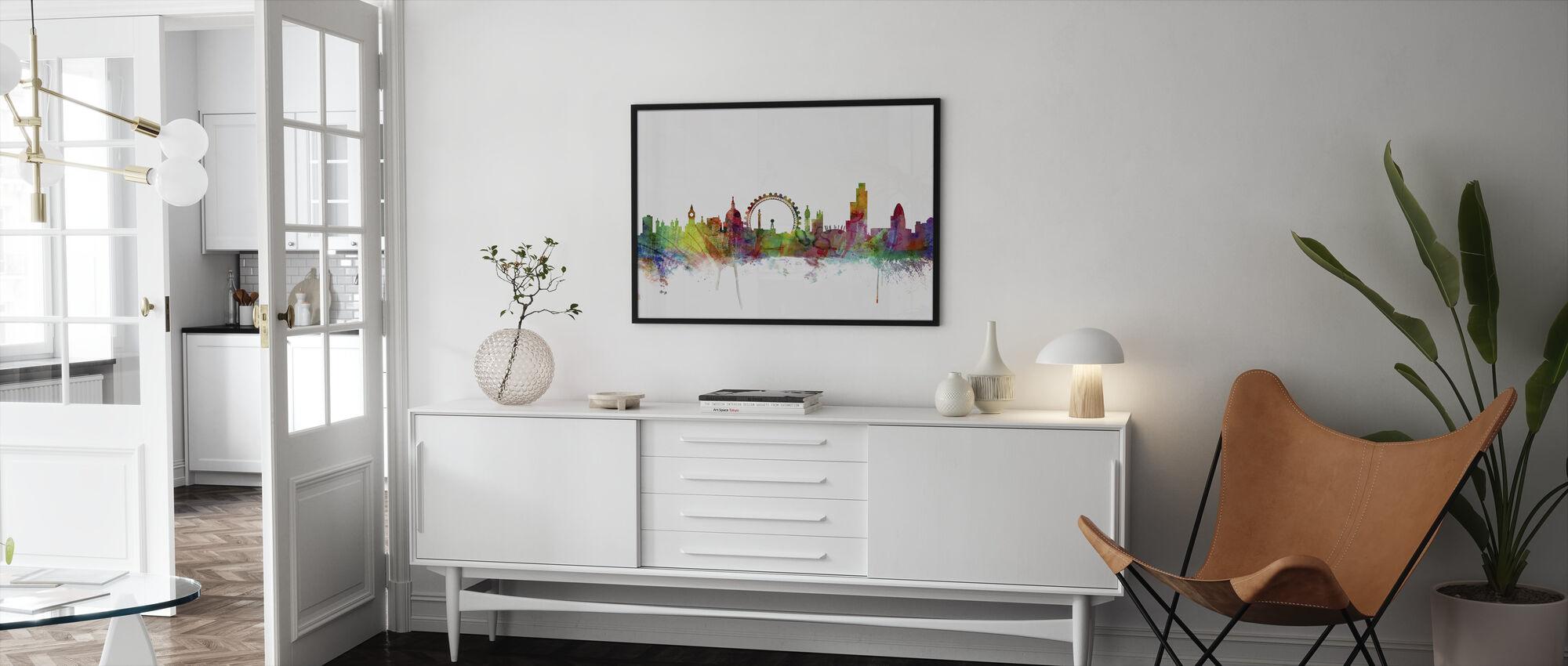 London Skyline - Framed print - Living Room