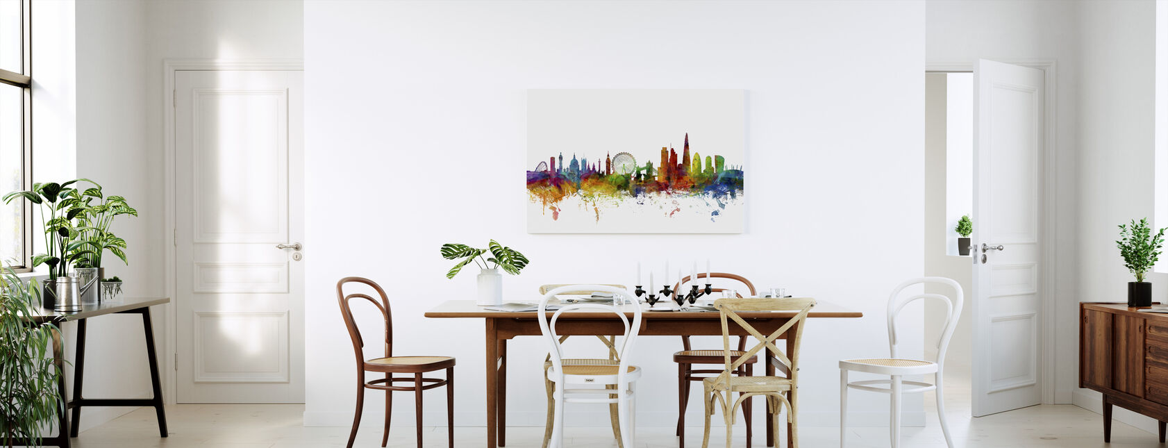 London Skyline 2 - Canvas print - Kitchen