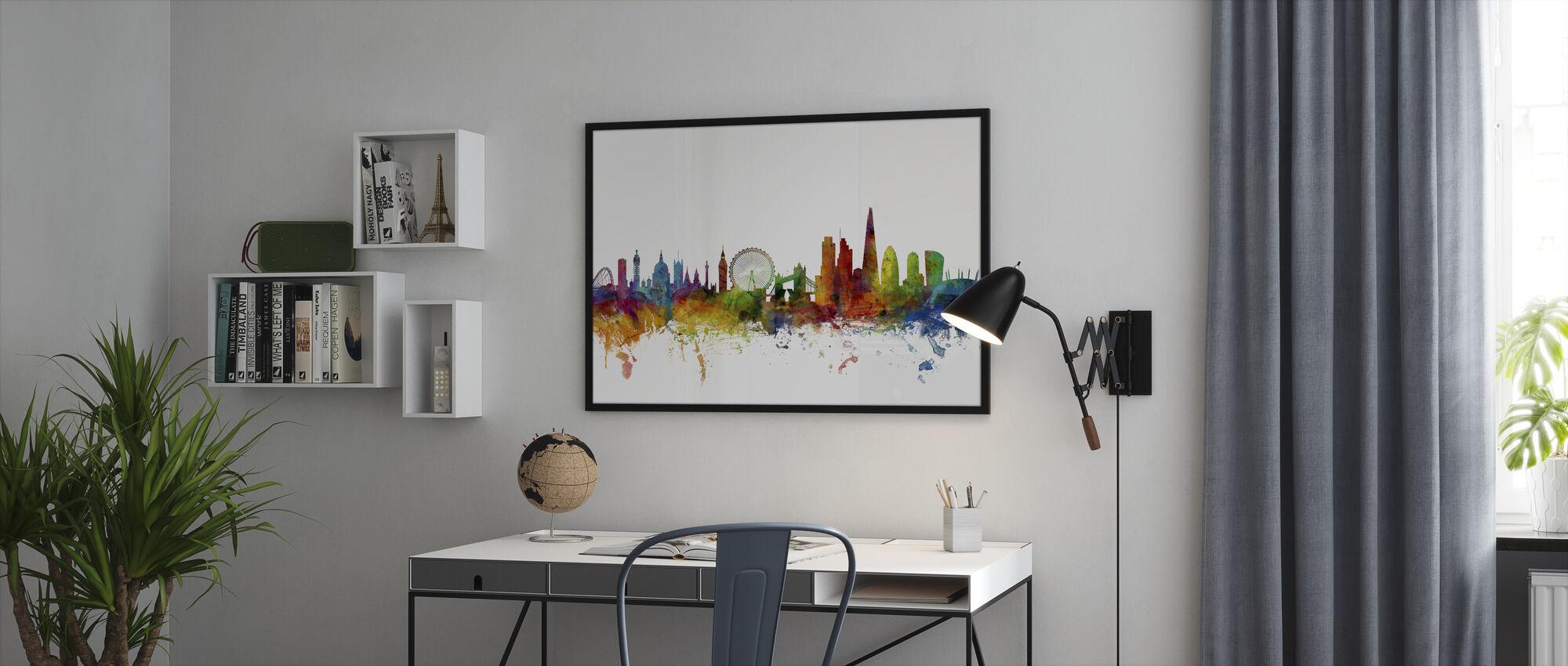 London Skyline 2 - Kehystetty kuva - Toimisto