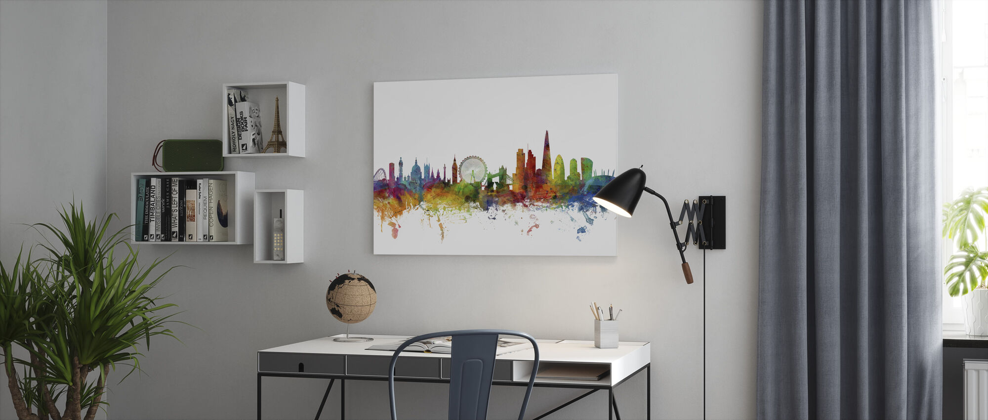London Skyline 2 - Canvas print - Office